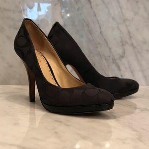 Beautiful Coach heels MAKE OFFER!